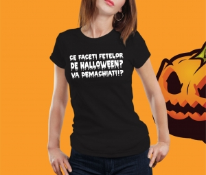 Tricou Personalizat Halloween - Fete De Halloween [0]