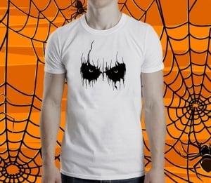 Tricou Personalizat Halloween - Scary Eyes0