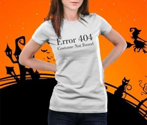 Tricou Personalizat Halloween - Costume Not Found1
