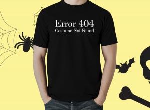 Tricou Personalizat Halloween - Costume Not Found0