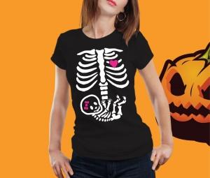 Tricou Personalizat Halloween - Mamica1