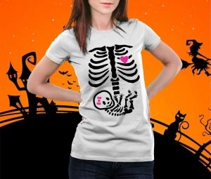 Tricou Personalizat Halloween - Mamica0