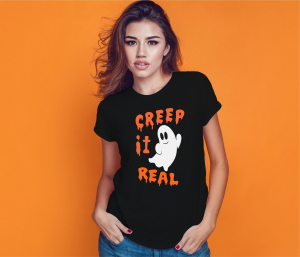 Tricou Personalizat Halloween - Creep It Real0
