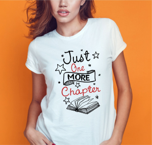 Tricou Personalizat - Just One More Chapter0