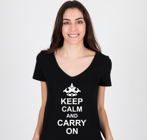 Tricou Personalizat - Keep calm and carry on1