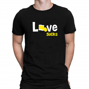 Tricou Personalizat - Love Sucks1