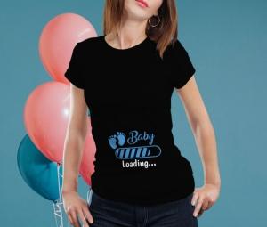 Tricou Personalizat Mamica - Baby Loading Baietel 11