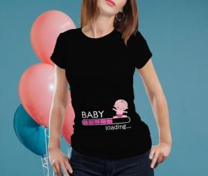 Tricou Personalizat Mamica - Baby Loading Fetita 2 [0]