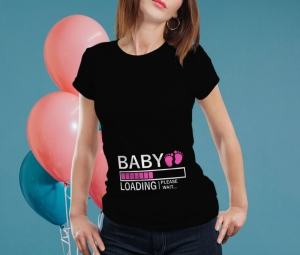 Tricou Personalizat Mamica - Baby Loading Fetita 3 [1]