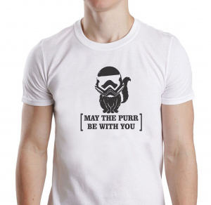 Tricou Personalizat - May The Purr Be With You0