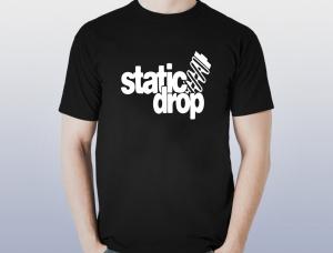 Tricou Personalizat - Static Drop0