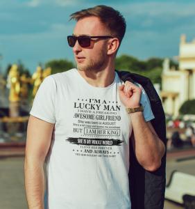 Tricou Personalizat - Lucky Man1