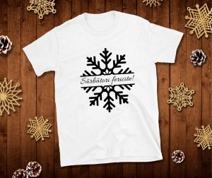 Tricou Personalizat - Sarbatori Fericite0