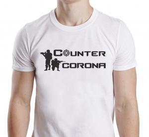 Tricou Personalizat #stamacasa - Counter Corona0