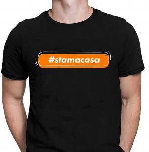 Tricou Personalizat - #stamacasa1