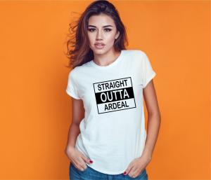 Tricou Personalizat - Straight Outta Ardeal1