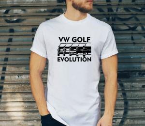 Tricou Personalizat - Volksvagen Golf Evolution1