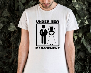 Tricou Petrecerea Burlacilor - Under New Management1