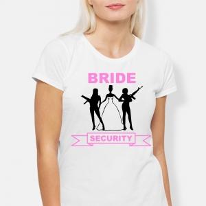 Tricou Petrecerea Burlacitelor - Bride Security [1]