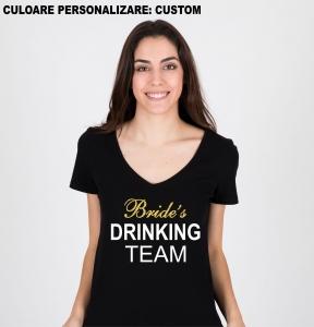 Tricou Petrecerea Burlacitelor - Bride's Drinking Team [0]