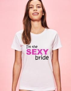 Tricou Petrecerea Burlacitelor - I'm the sexy bride1