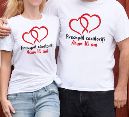 Tricouri Cuplu Personalizate - Aniversare Casatorie [0]