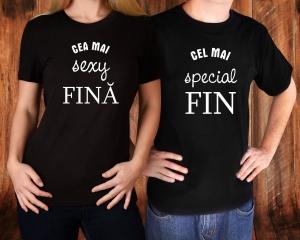 Tricouri Cuplu Personalizate - Fini0