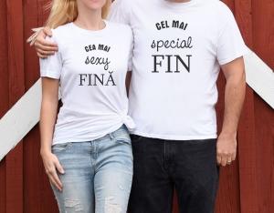 Tricouri Cuplu Personalizate - Fini1