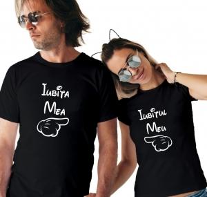 Tricouri Cuplu Personalizate - Iubitul meu / Iubita mea1
