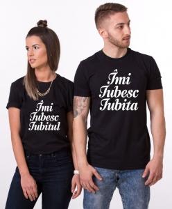 Tricouri Cuplu Personalizate - Imi iubesc Iubitul / Iubita0