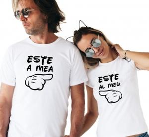 Tricouri Cuplu Personalizate - Este al meu / Este a mea2