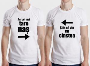 Tricouri Personalizate - Am Cel Mai Tare Nas, Cu Cinstea1