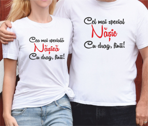Tricouri Personalizate - Cei Mai Speciali Nasi0