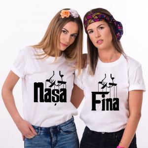 Tricouri Personalizate - Nasa si Fina0