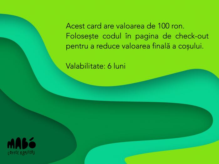 giftcard MABÓ 1