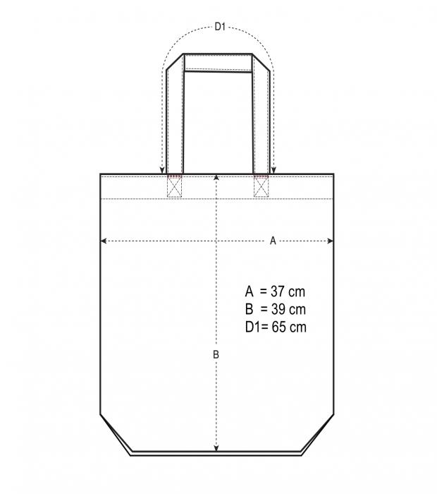 recycled cotton MABÓ tote bag 2