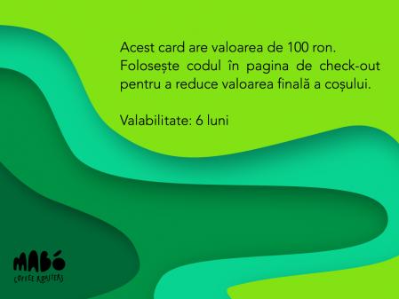 Giftcard - voucher cadou 100 RON1