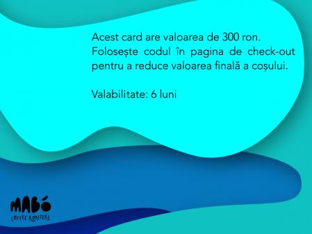 Giftcard - voucher cadou 300 RON1