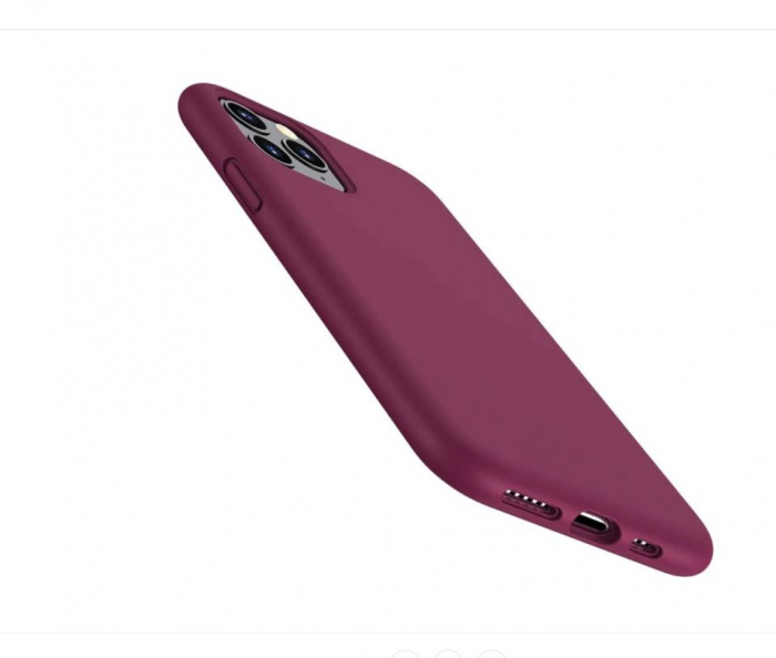 HUSA TPU SILICON IPHONE 11 PRO GUARDIAN RED WINE X-LEVEL 1