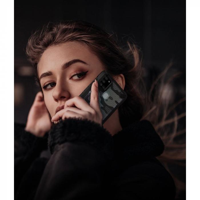 Husa Ringke Fusion X Samsung Galaxy A21s camo [1]