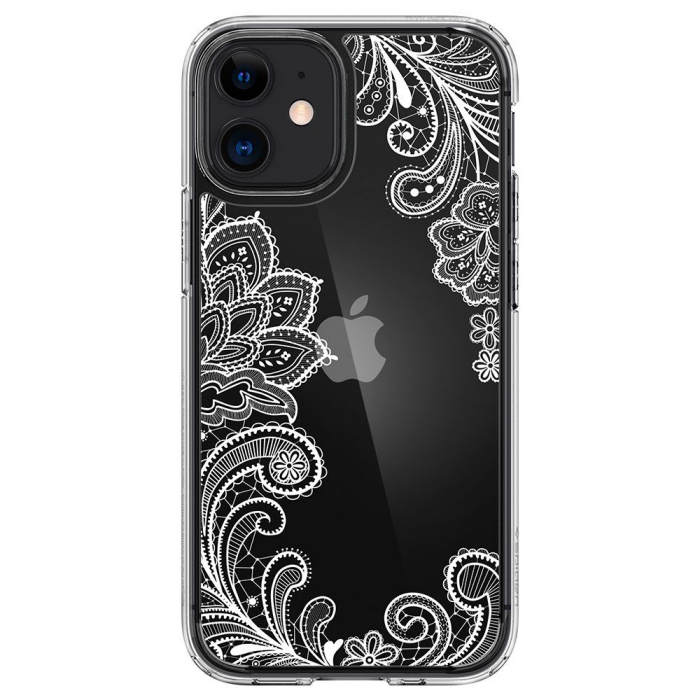 Carcasa Spigen Cecile iPhone 12 Mini White Mandala 0