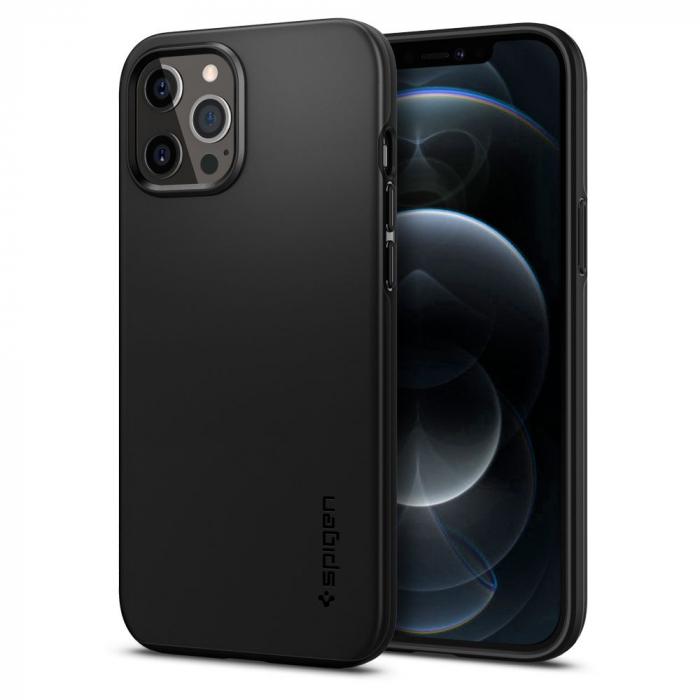 Husa Spigen Thin Fit IPhone 12 Pro Max [0]