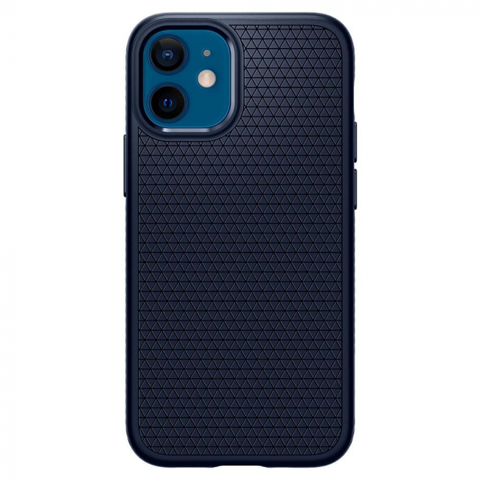 Carcasa Spigen Liquid Air iPhone 12 Mini Navy Blue 0