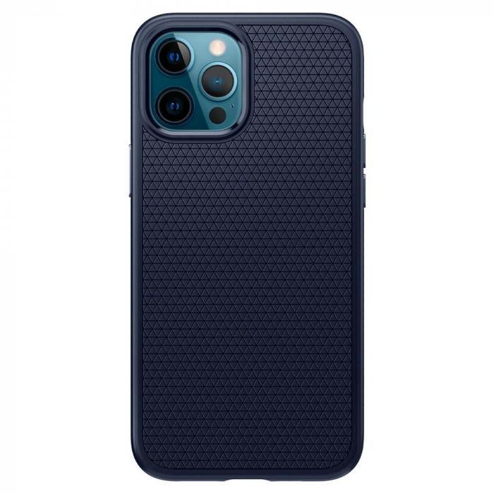 Husa Spigen Liquid Air IPhone 12/12 Pro albastru [0]