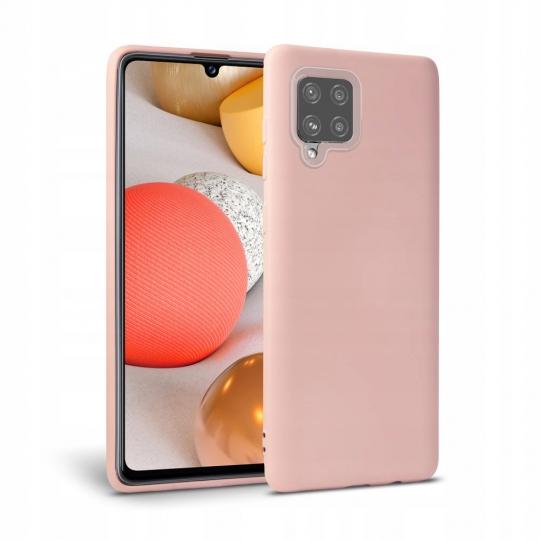 Husa Tech-protect Icon Samsung Galaxy A42 5G roz [0]