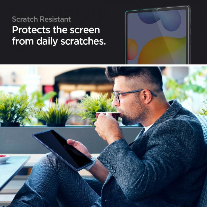 Folie sticla Spigen Glass Slim Samsung Galaxy Tab S6 Lite P610/P615 10.4 inch [1]