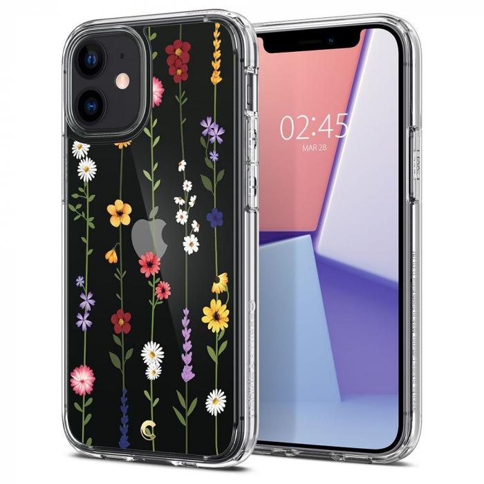 Husa Spigen Cecile IPhone 12 Mini Flower Garden [8]