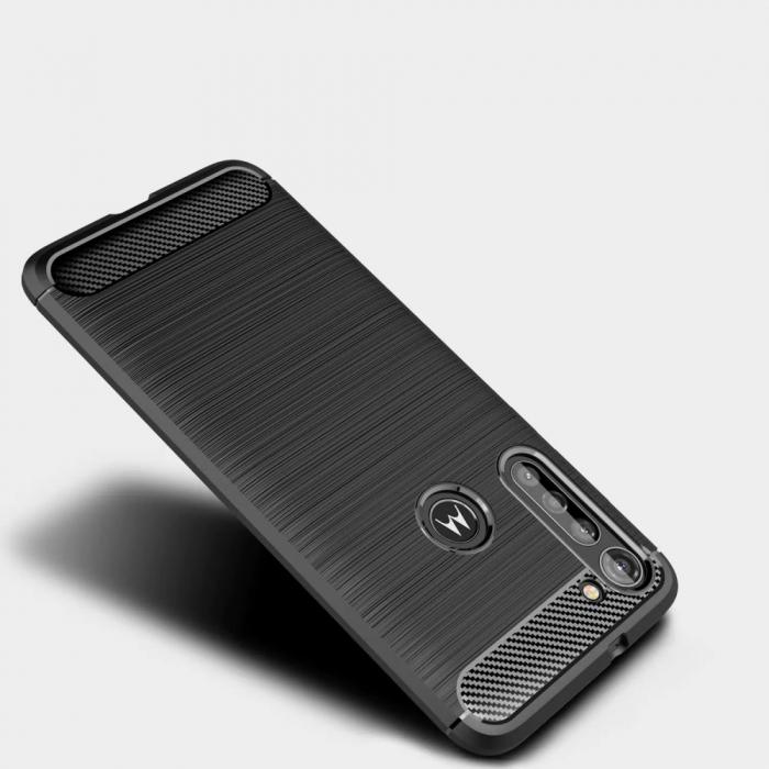 HUSA TECH-PROTECT TPUCARBON MOTOROLA MOTO G8 POWER BLACK 4