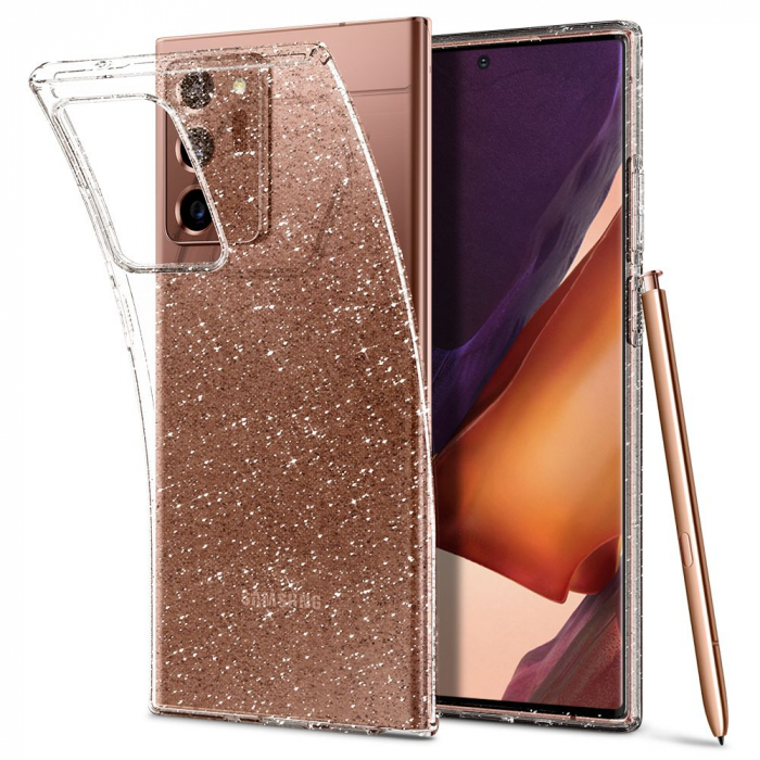 Carcasa Spigen Liquid Crystal Samsung Galaxy Note 20 Ultra Glitter Crystal 7