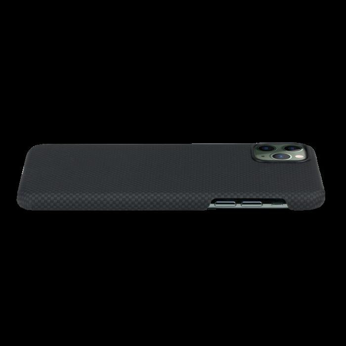 Husa Fibra Aramida Pitaka MagEZ Apple IPhone 11 Pro, Car Case Magnet Plain 1